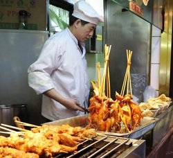 Street food is Shanghai