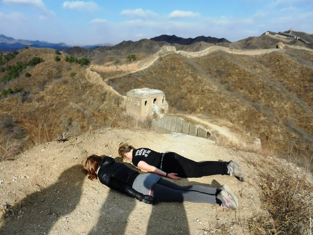 Planking on the Great Wall? Ok.