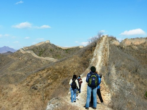 Trekking the unrestored Great Wall