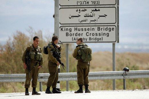 Typical border scene