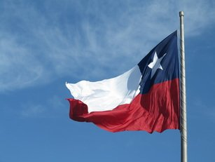 Chile's national flag