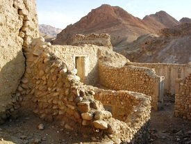Crumbled Berber villages