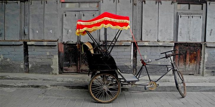 Rickshaw is the best way to explore this tangle of streets