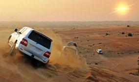 Everybody loves a bit of dune bashing