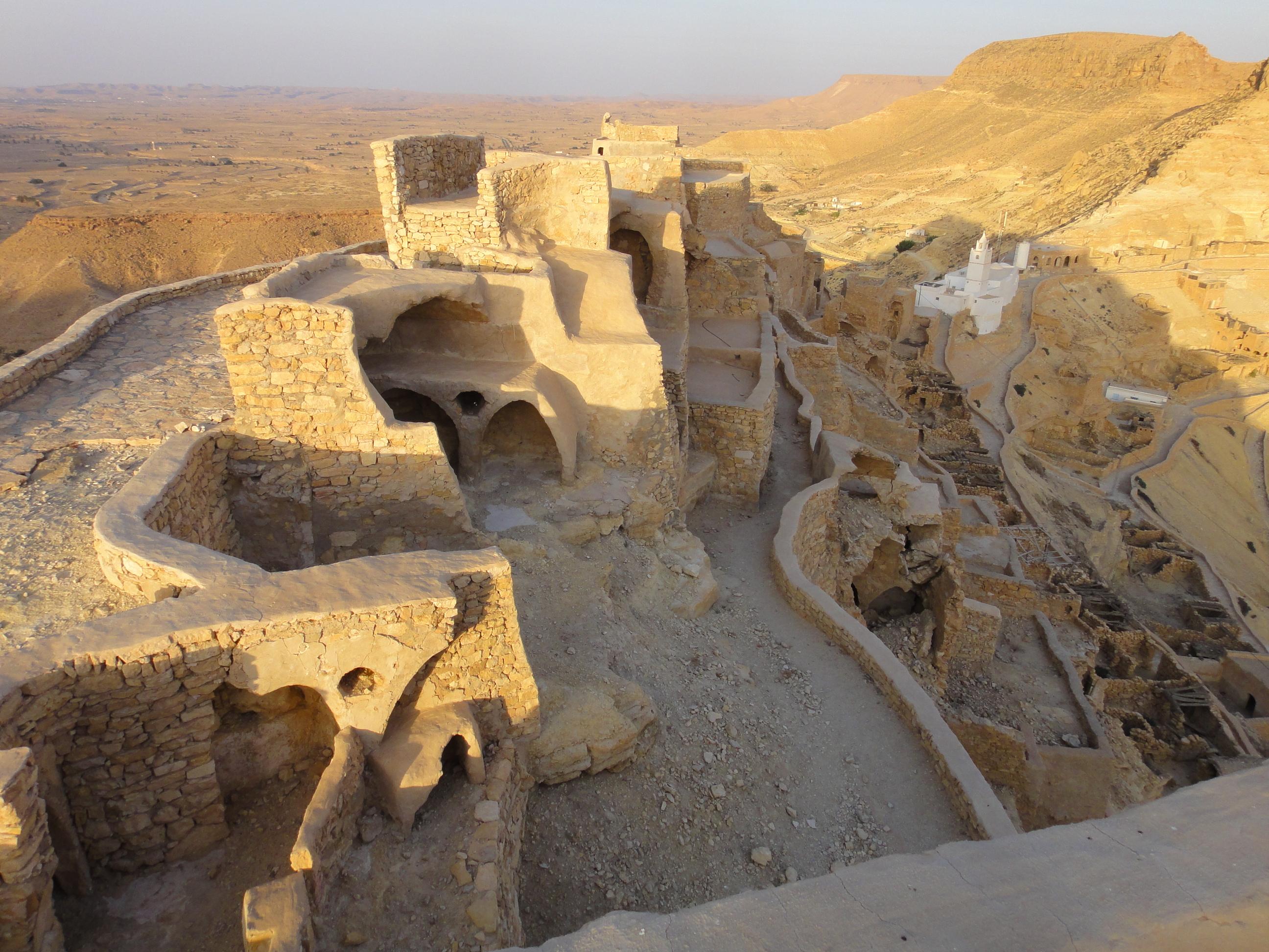Ruined Hilltop Berber Village of Chenini,