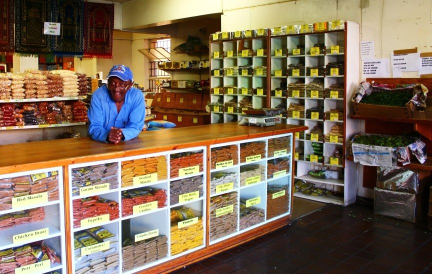 Spice shop in Bo Kaap