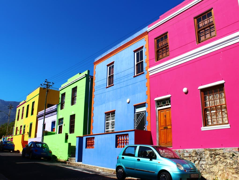 More Bo Kaap - it's just so pretty!