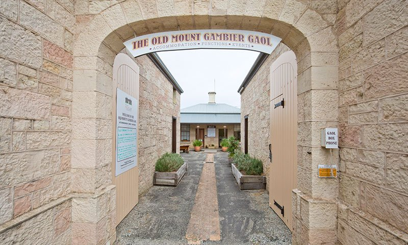 Ever dreamed of sleeping in a gaol cell? Photo Credit: Mt Gambier Gaol