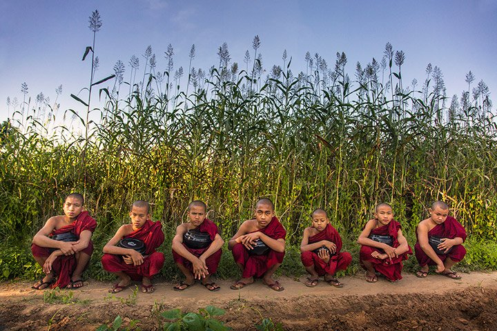 Monk children