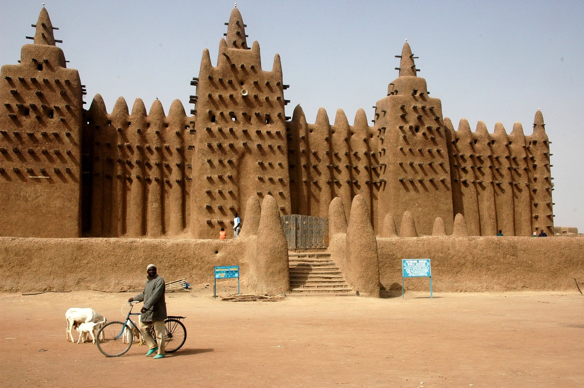 Bucket list item - to visit Djenne's Great Mud Mosque