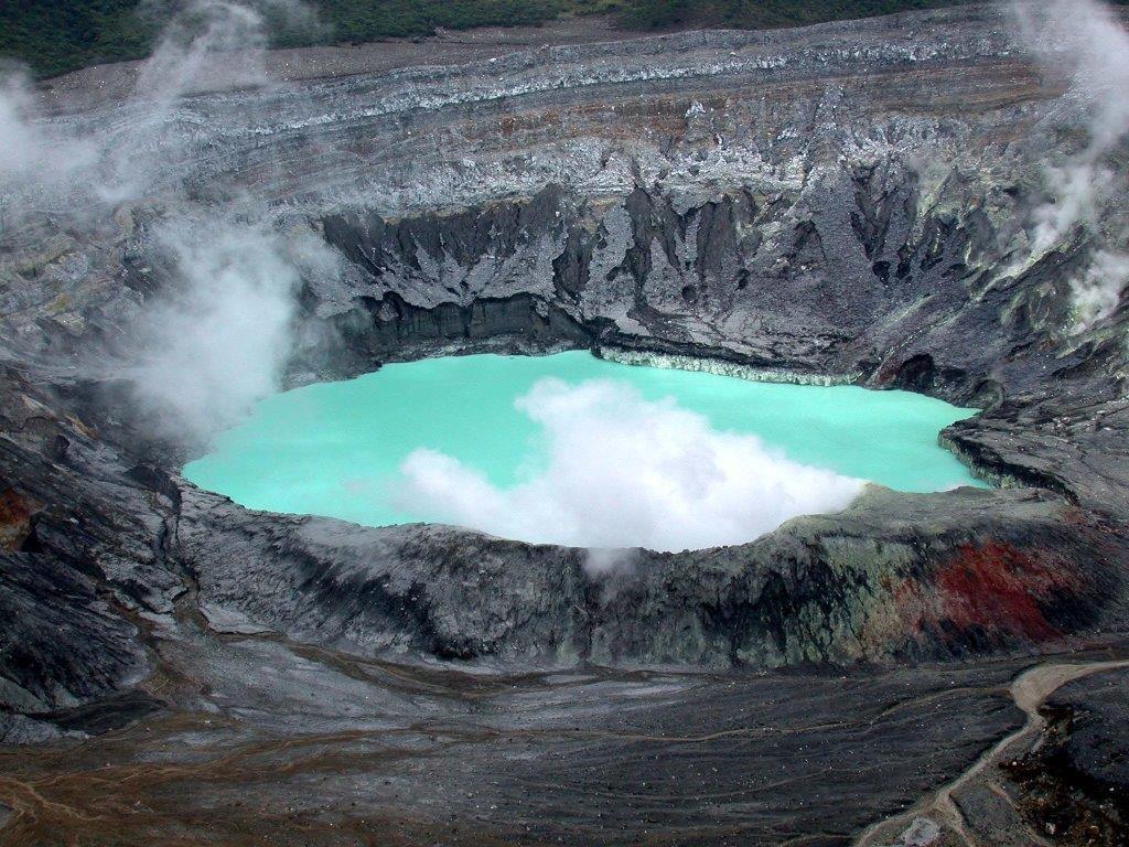 Botos Laguna, Poass Volcano, Costa Rica