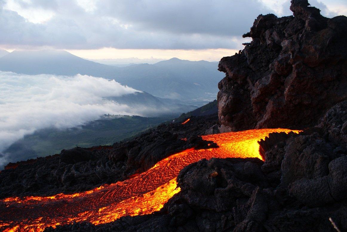 Pacaya Volcano trek, Guatemala