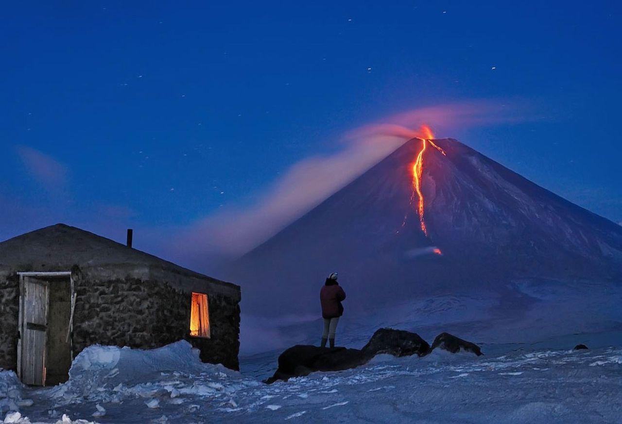 Volcanoes of Kamchatka, Russia