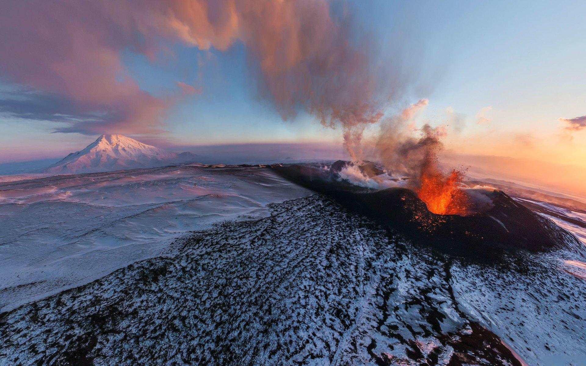 volcano alley Kamchatka Russia