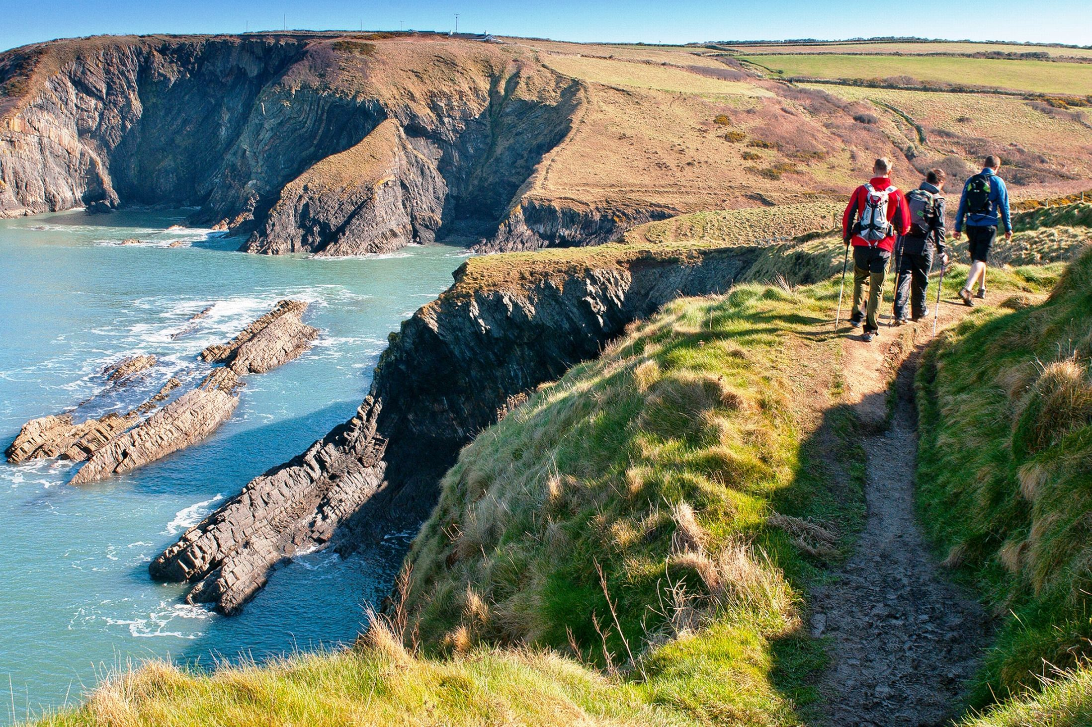 Pembrokeshire Coast Path, UK