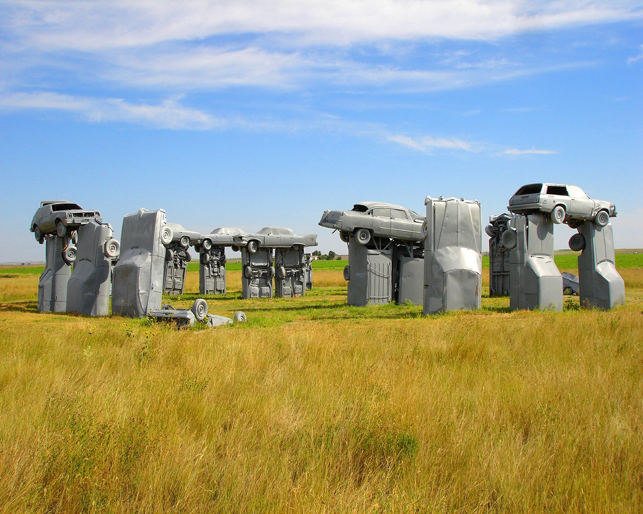 This isn't Stonehnege... It's Carhenge of course!