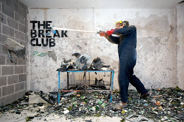 Break Club, get your anger out!