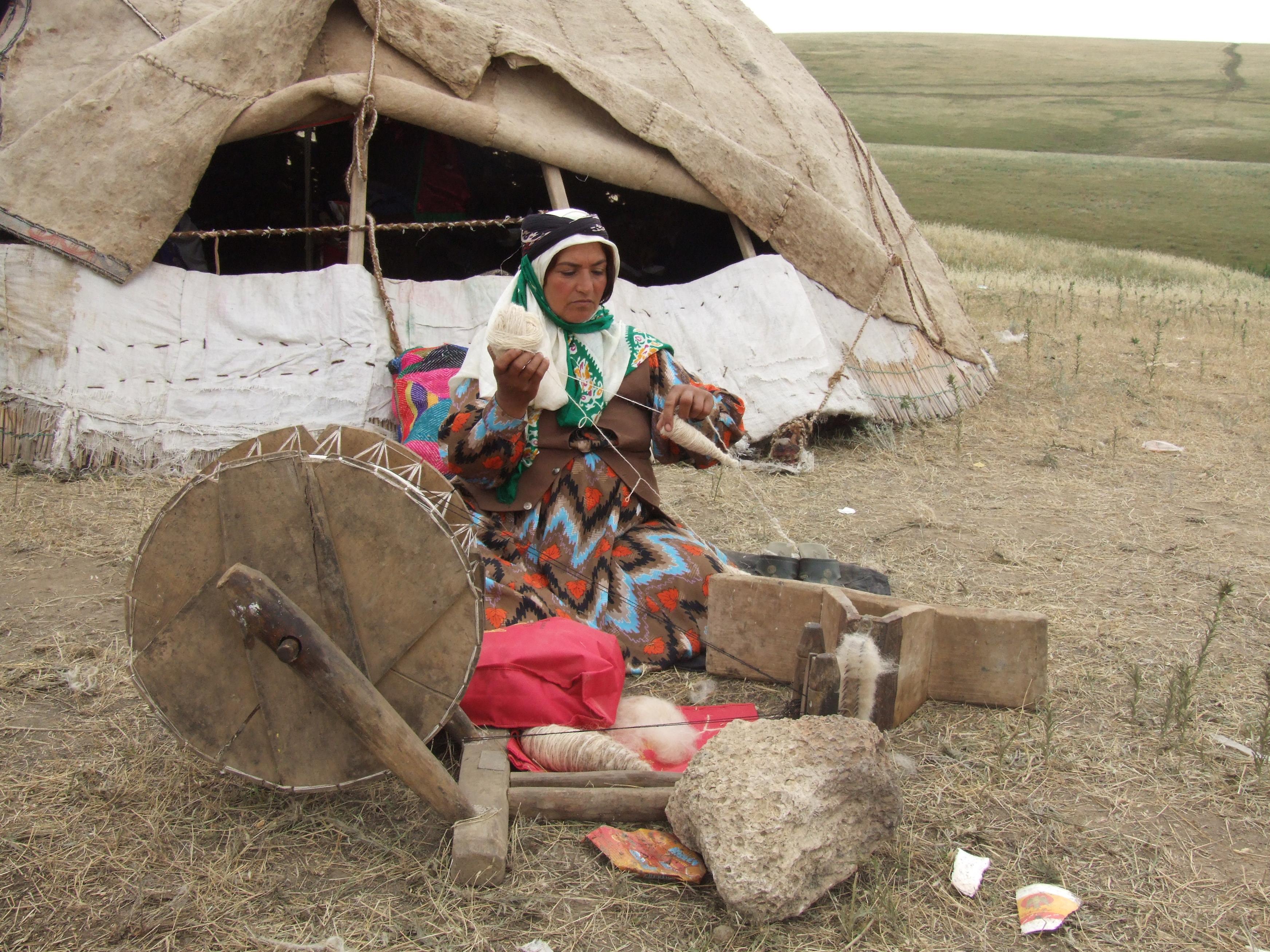 Shahsavan Nomads, Iran