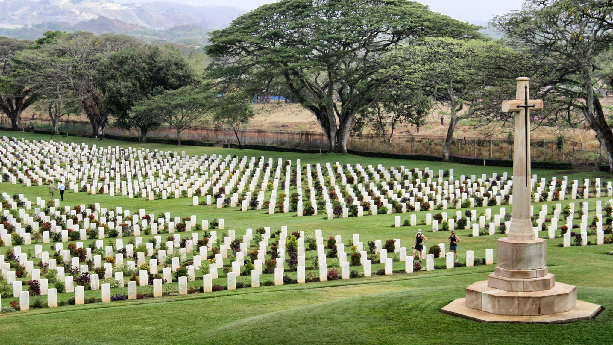 Bomana War Cemetery, Port Moresby