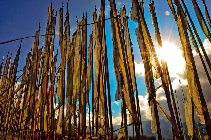 Prayer Flags, Eastern Bhutan