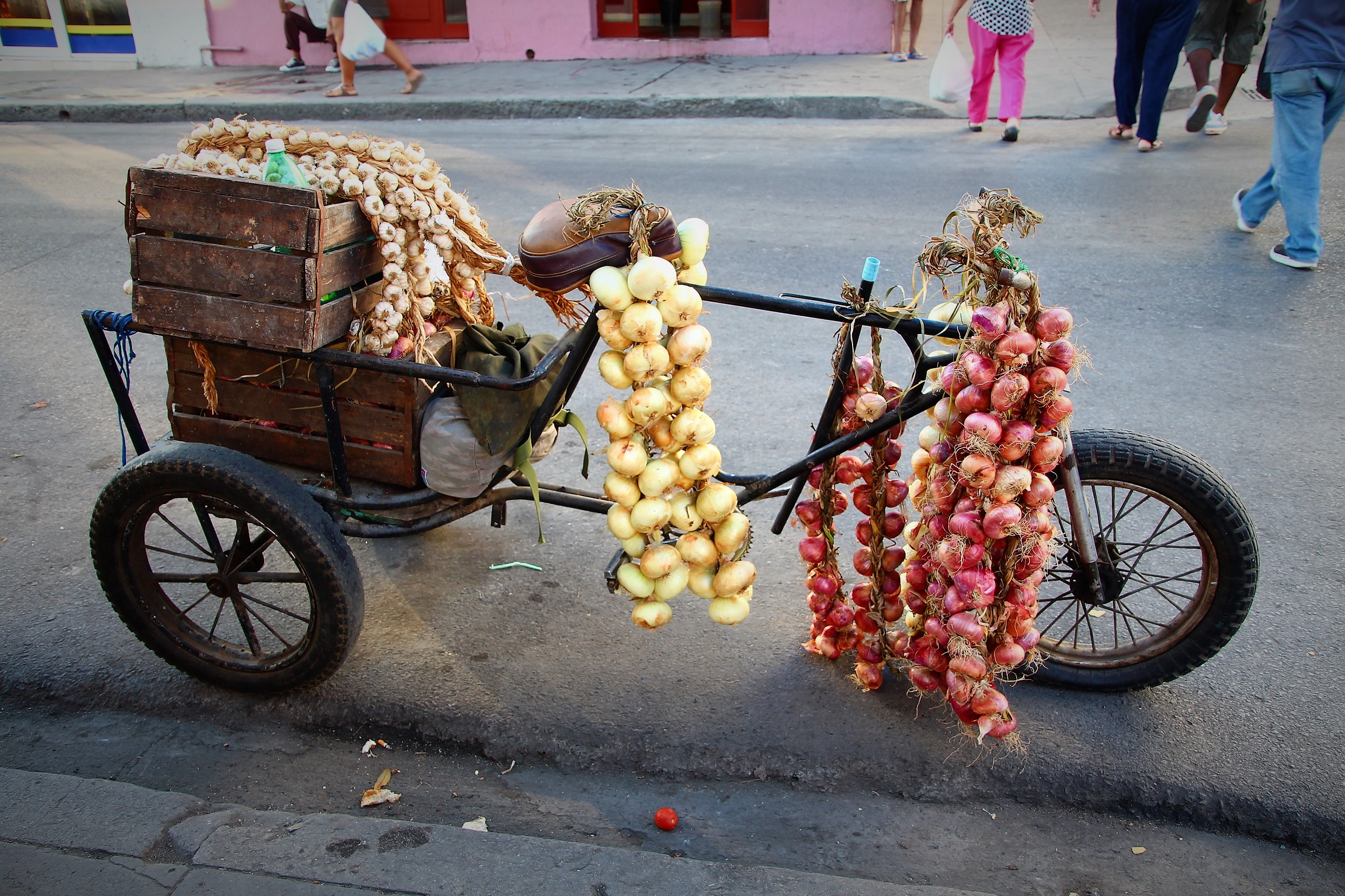 Cienfuegos, garlic and onion anyone?