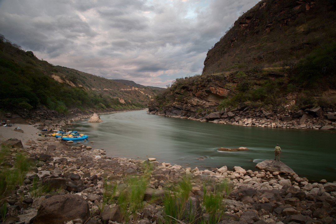 Evenings on the Marañón. Bill Hatcher.