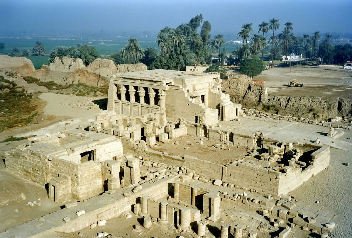 Ancient Egyptian Iunet or Tantere, known to the Greeks as Tentyris, was the capital of the 6th nome of Upper Egypt and a town of some importance. Today, we know it as Dendera
