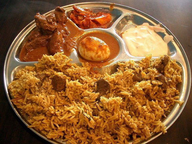 Andhra-Bhawan The Best Chicken Biryani at Andhra Bhavan  Image credit: Hangouts