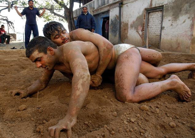 Traditional Indian wrestling