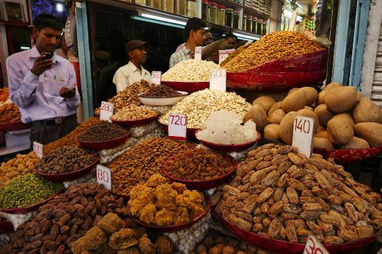 Spice and Dry Fruit Markets, Agra.