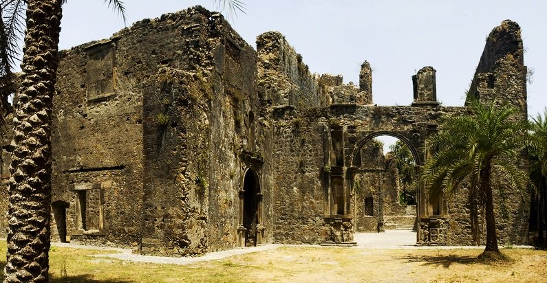 Vasai Fort, located on the outskirts of Mumbai