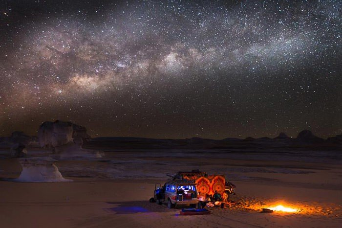 Star gazing in Iran. Photo credit: Land of Turquoise Domes.