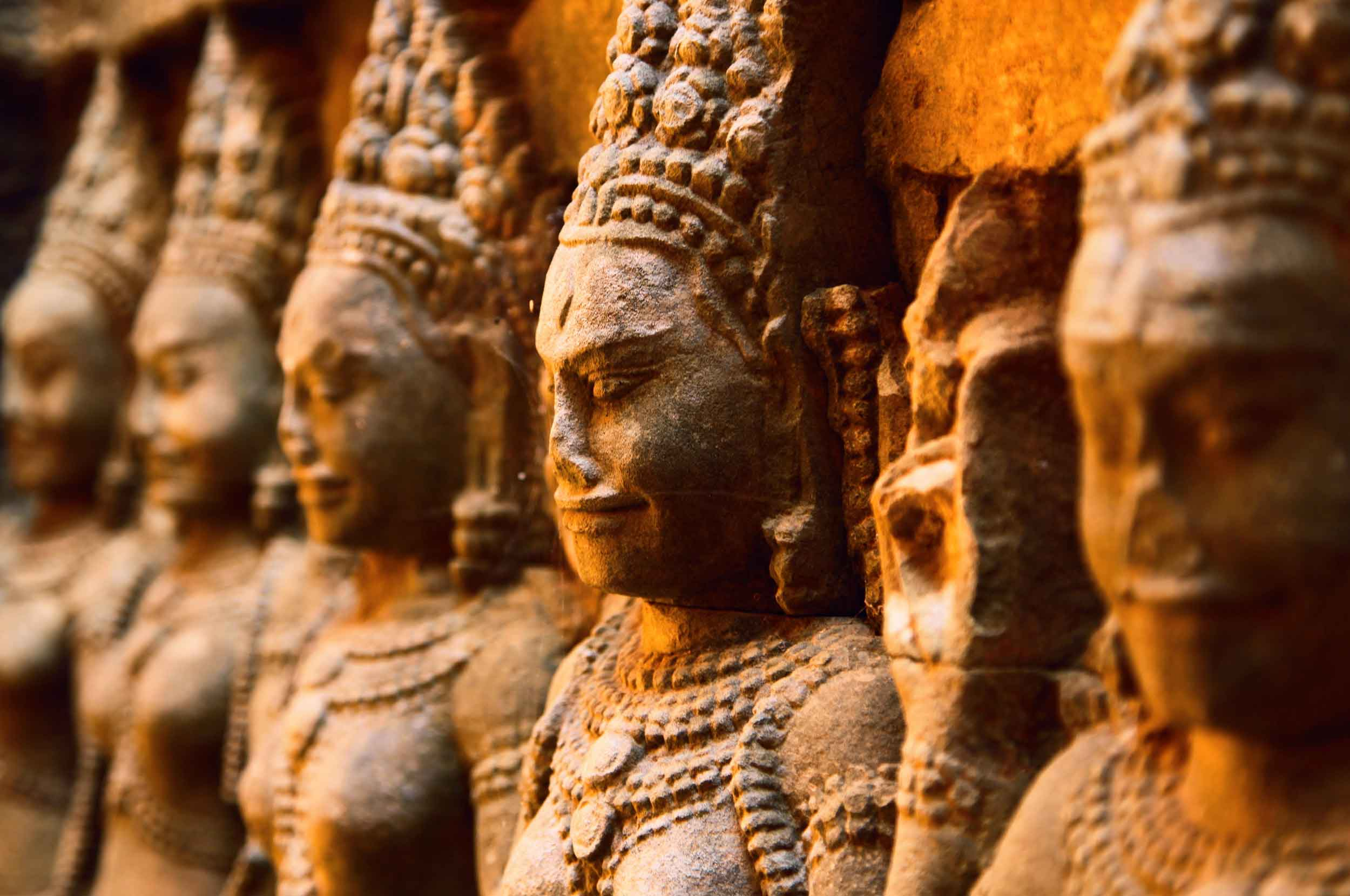 The many faces of Ancient Angkor