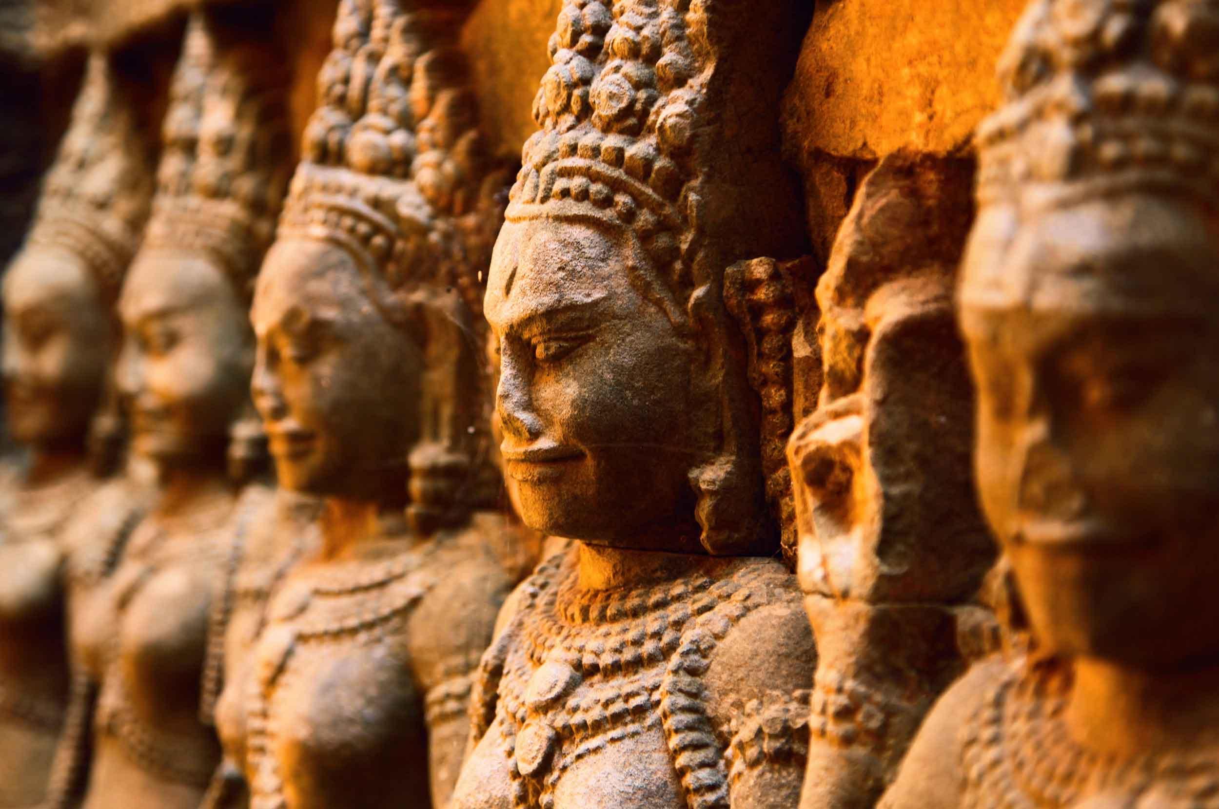 The many faces of Ancient Angkor