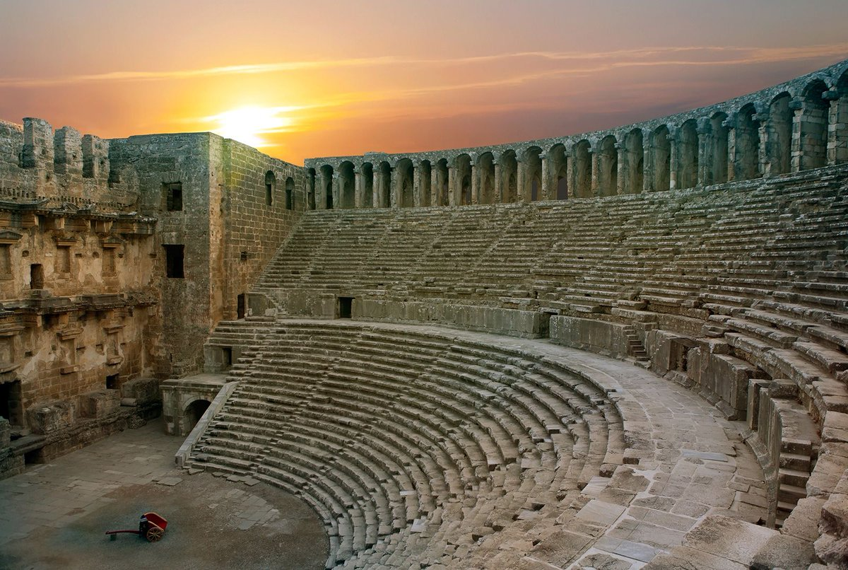 The Antique Theatre of Aspendos