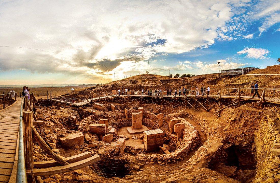 Ruins of Gobekli Tepe