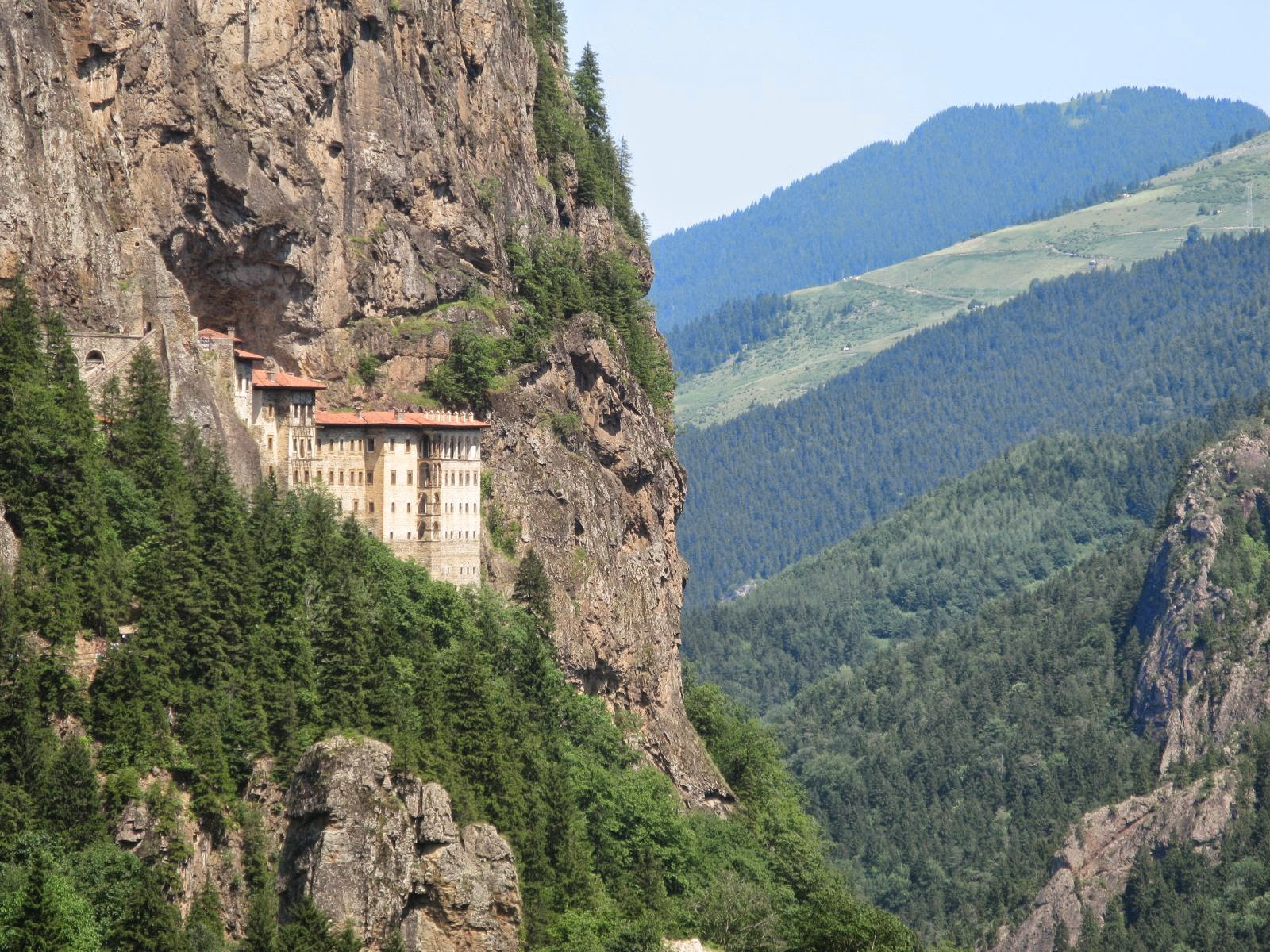 The Sumela Monastery
