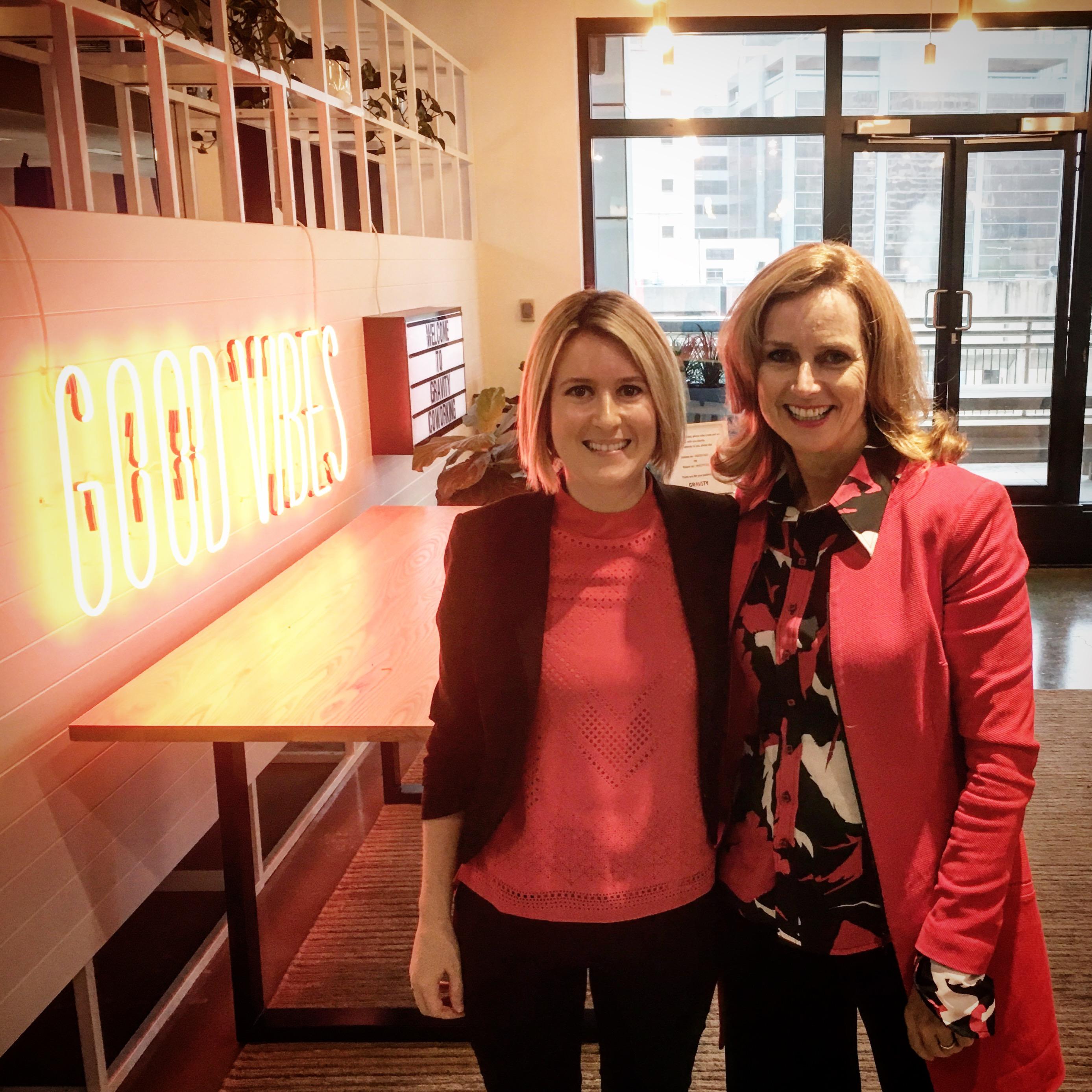 Lisa Pagotto & Naomi Simson