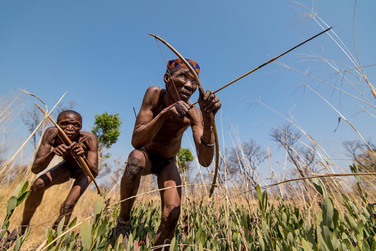 san, san bushmen, hunting