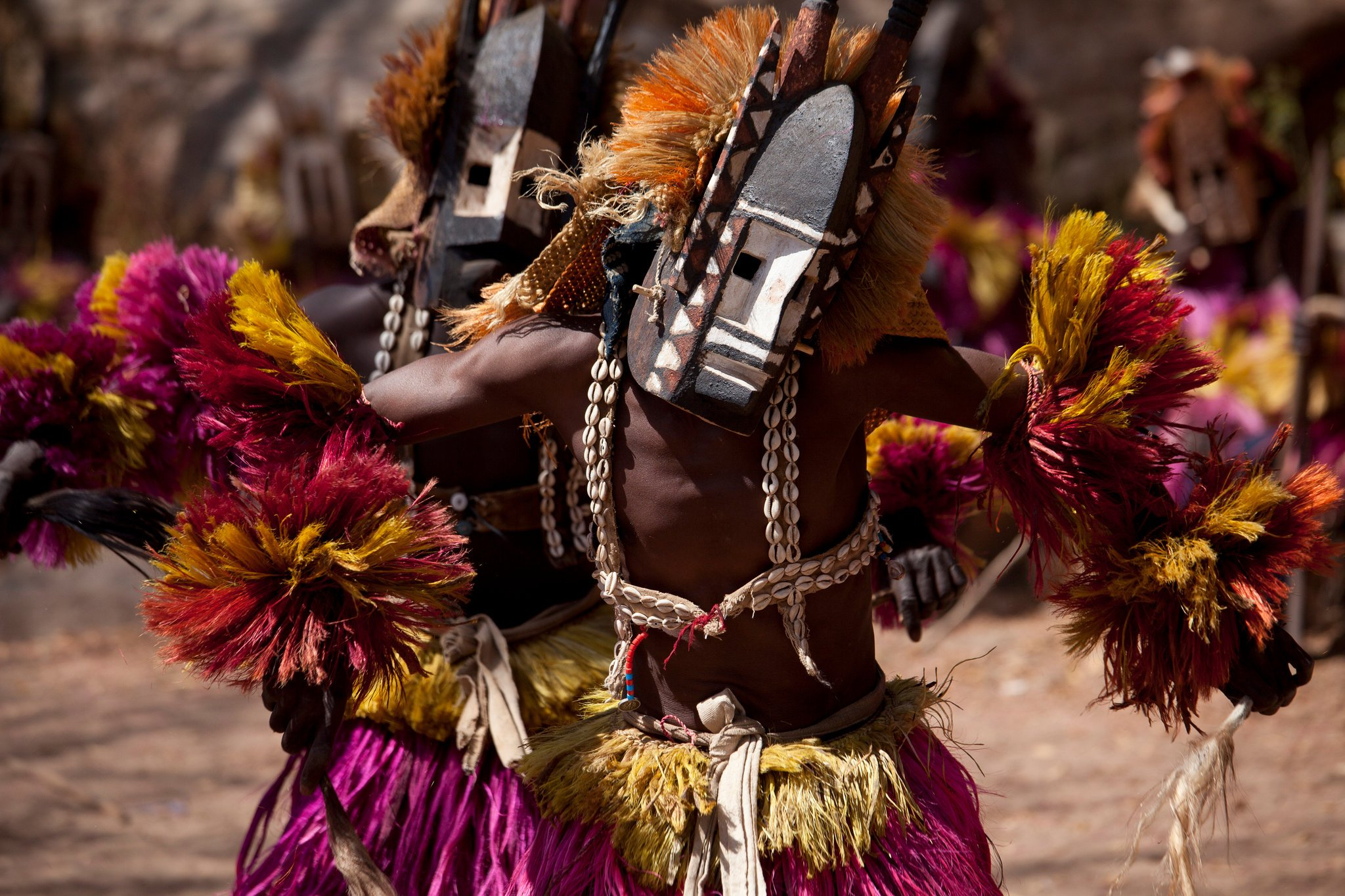 Dogon Mask Dancer, Mali