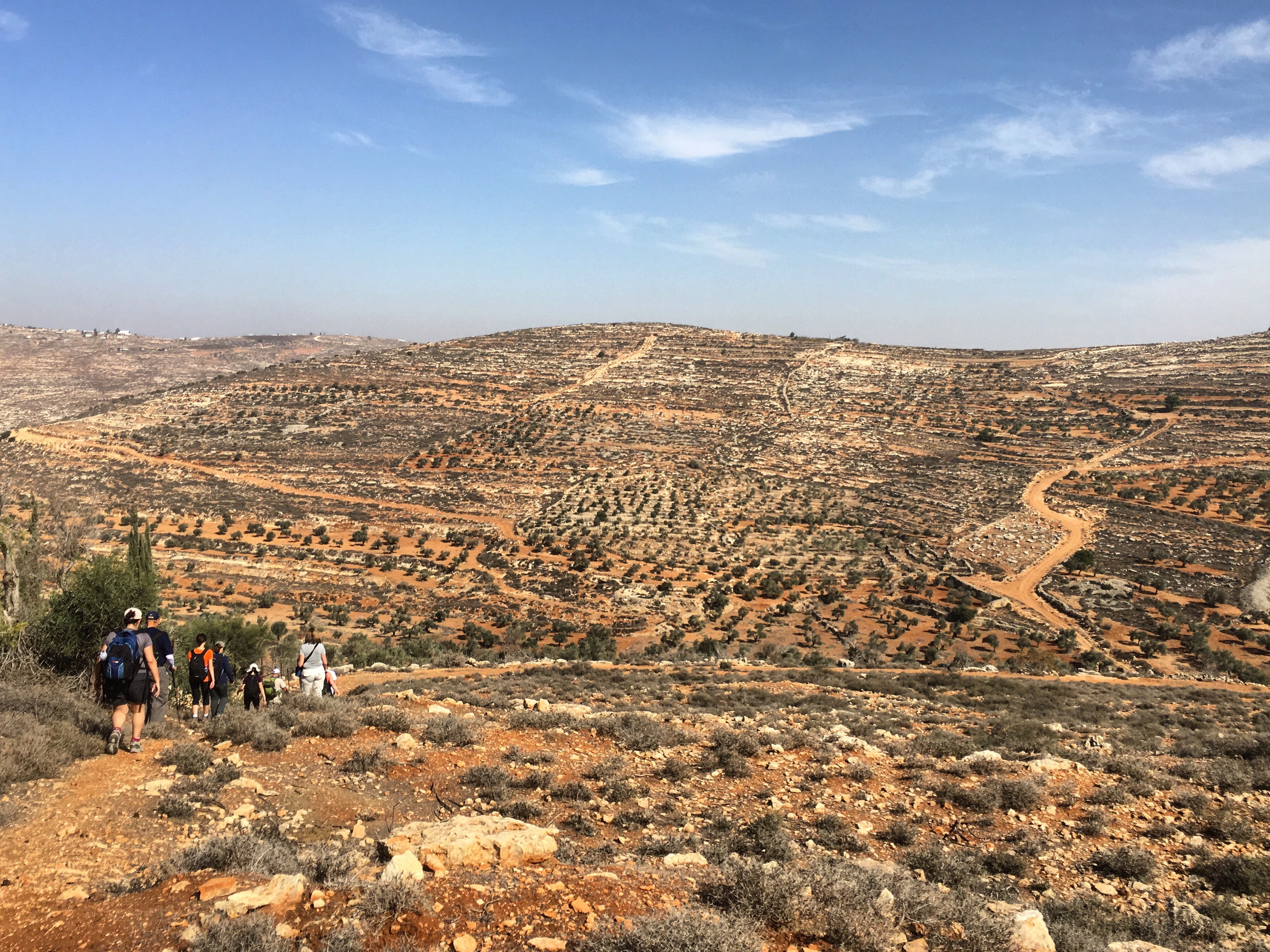 Hiking, Palestine, Abraham's Path, Crooked Compass