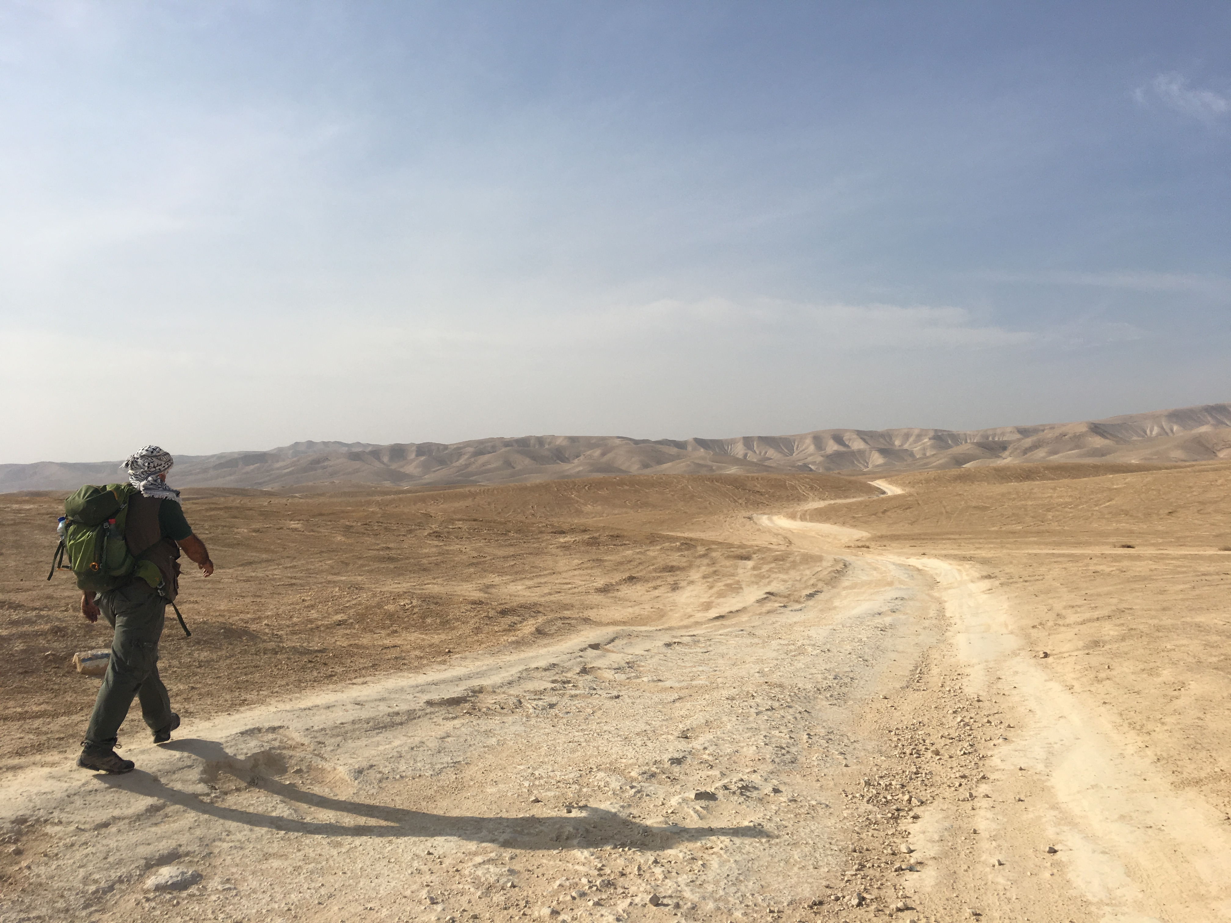 Desert Hiking, Walking in Palestine, Palestine, Hiking, Abraham's Path, Crooked Compass