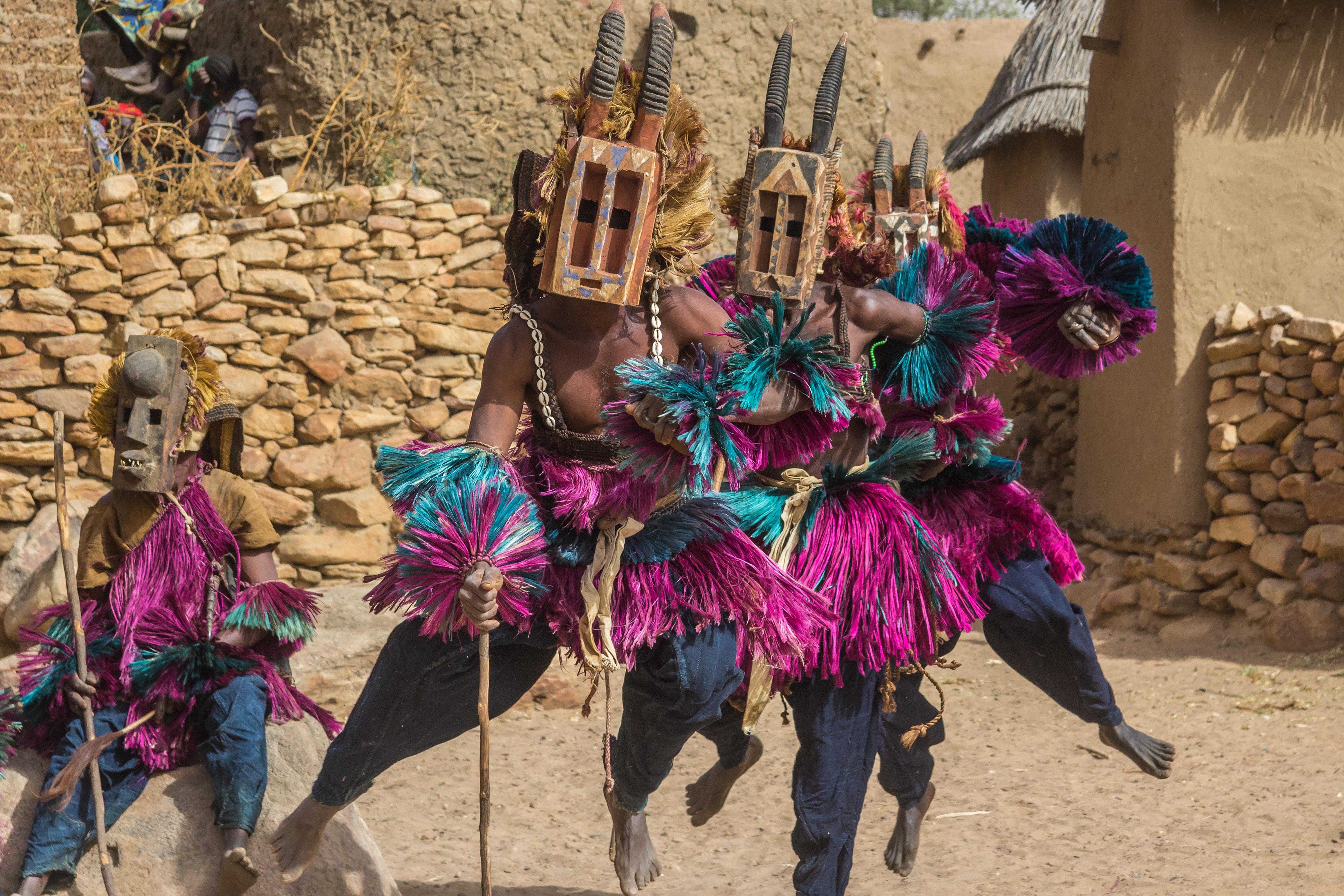 Dogon Mask Dancers