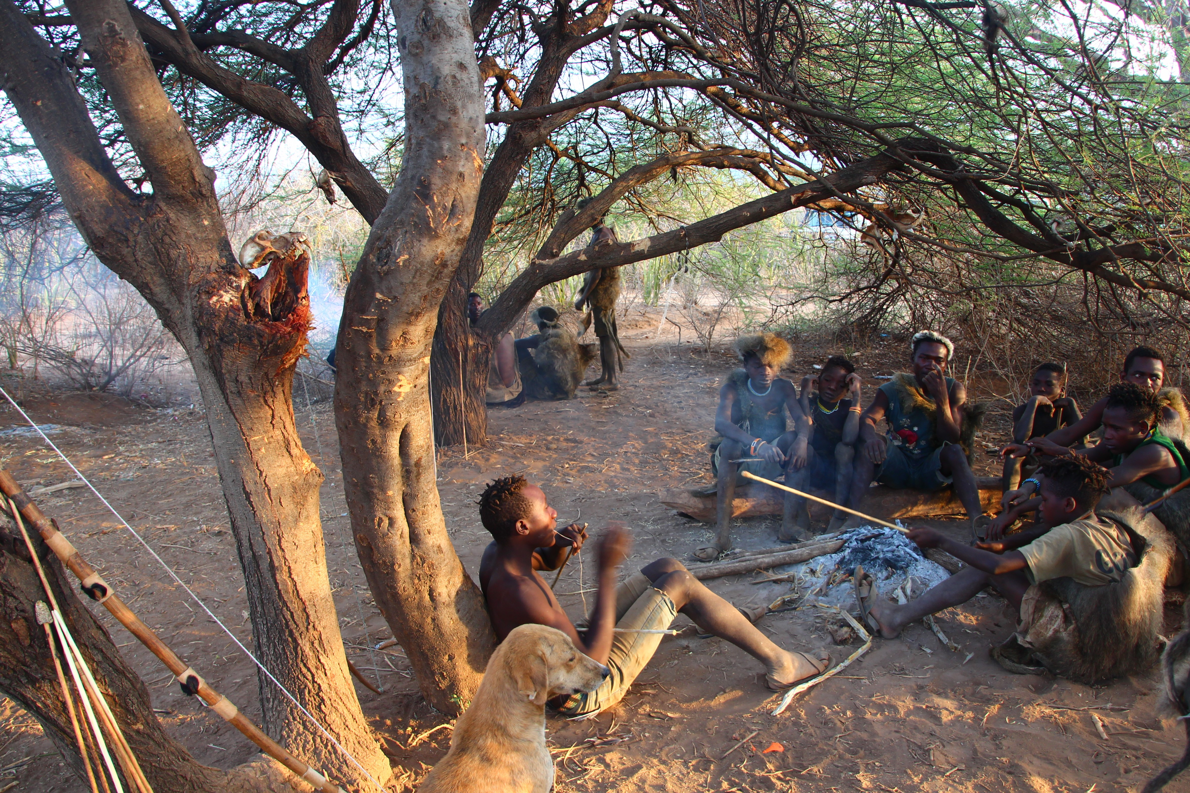Hadzabe Hunter Gatherer tribe - Tanzania - Crooked Compass
