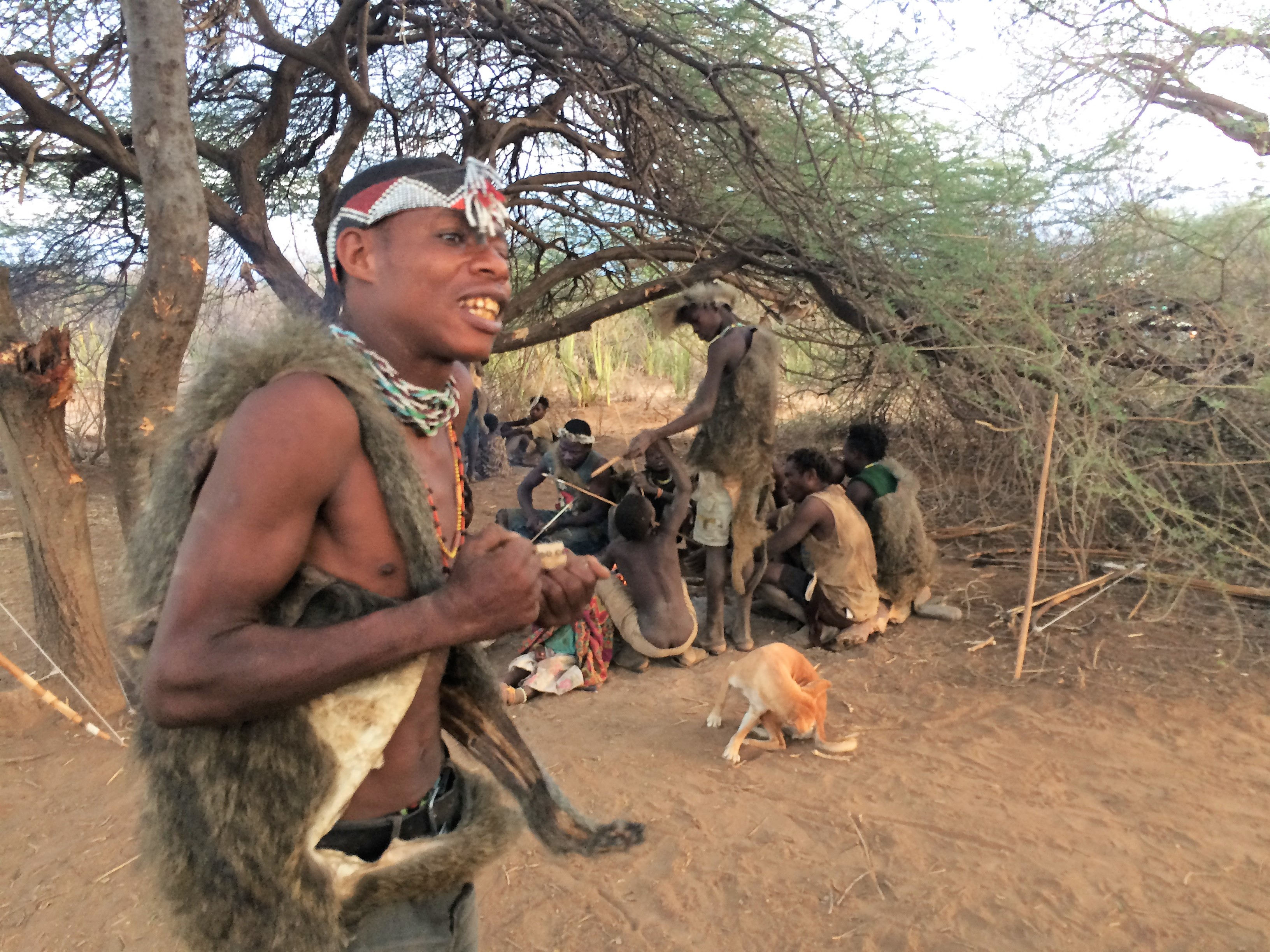 Mimicking the animals of the bush - Hadzabe Tribe - Crooked Compass