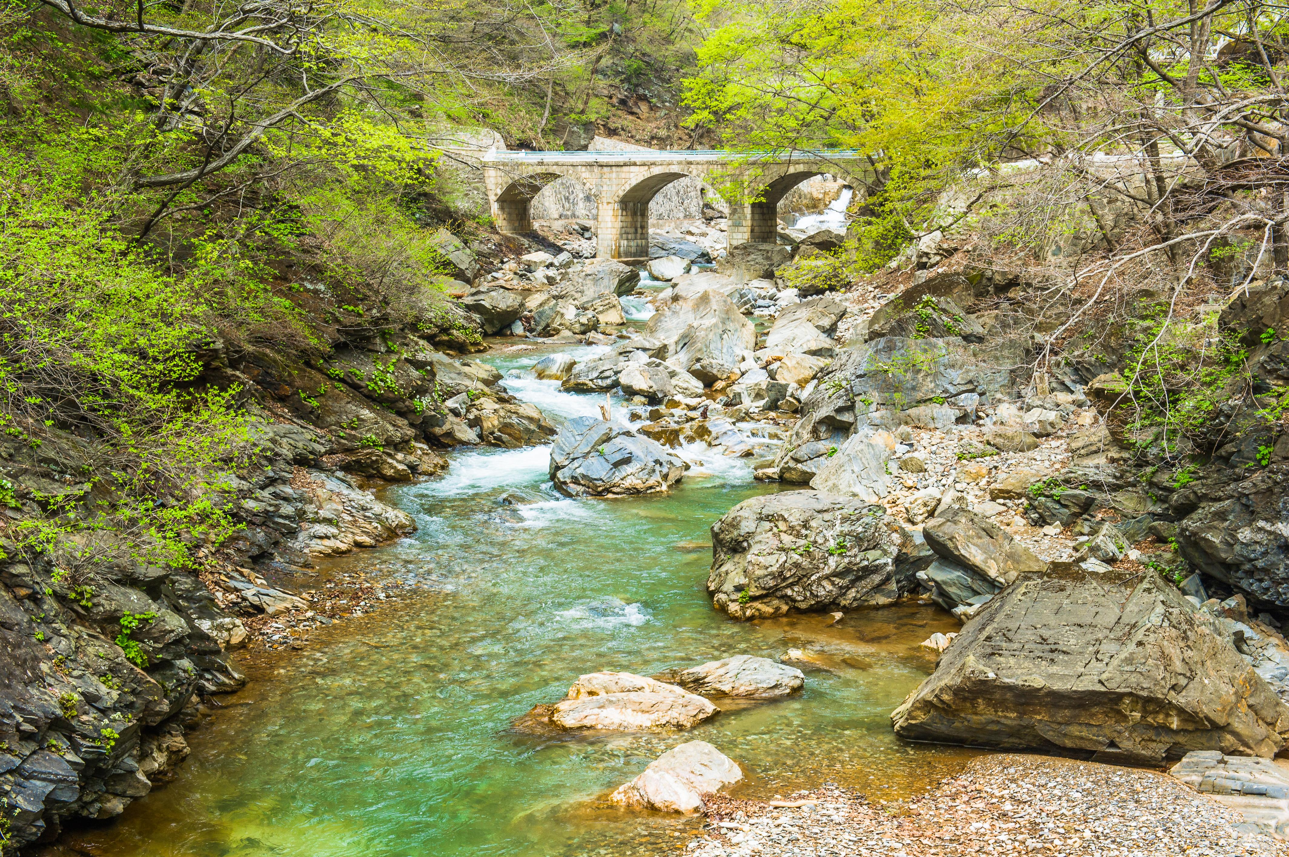 Natural landscapes of North Korea