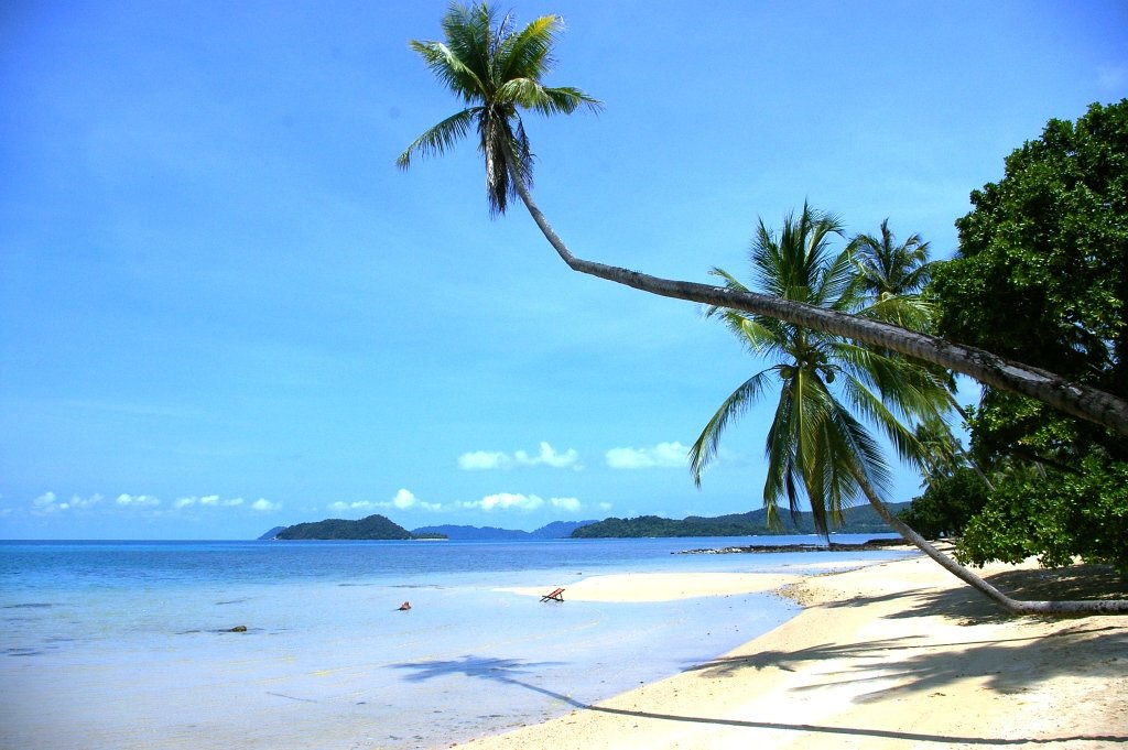 Koh Mak, Thai Islands, Beach, Paradise, Palm Trees, Crooked Compass