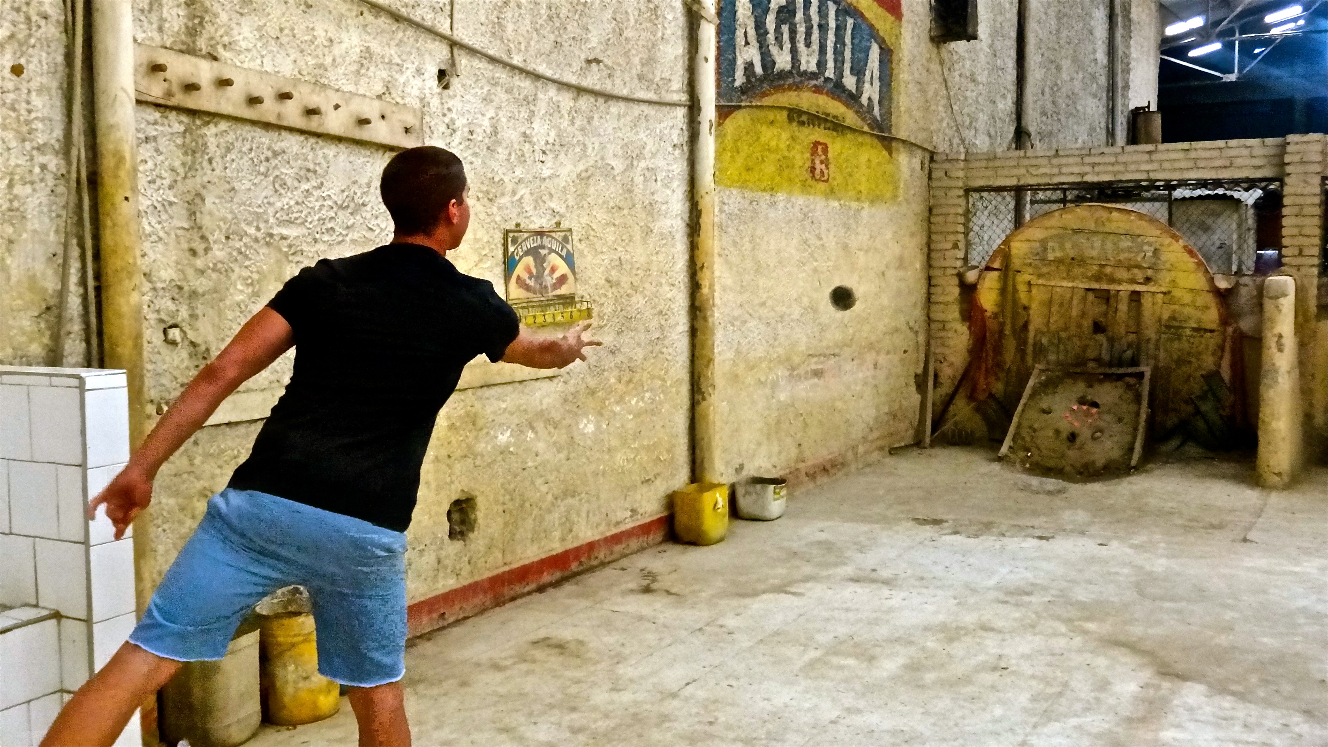 Tejo, Colombia, Bogota, Games, South America, Crooked Compass