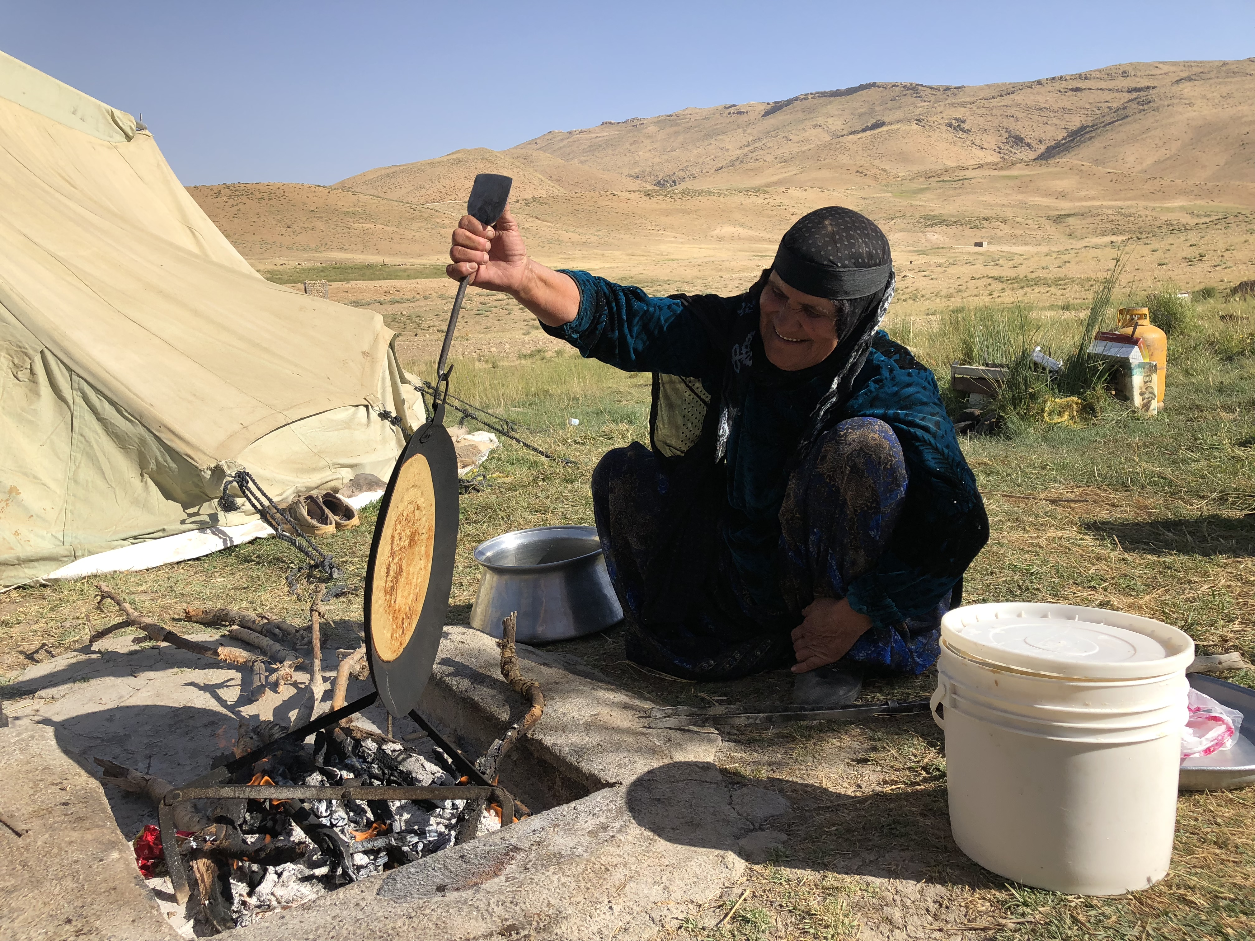 Living the nomad life in Iran | Photo Credit: Crooked Compass