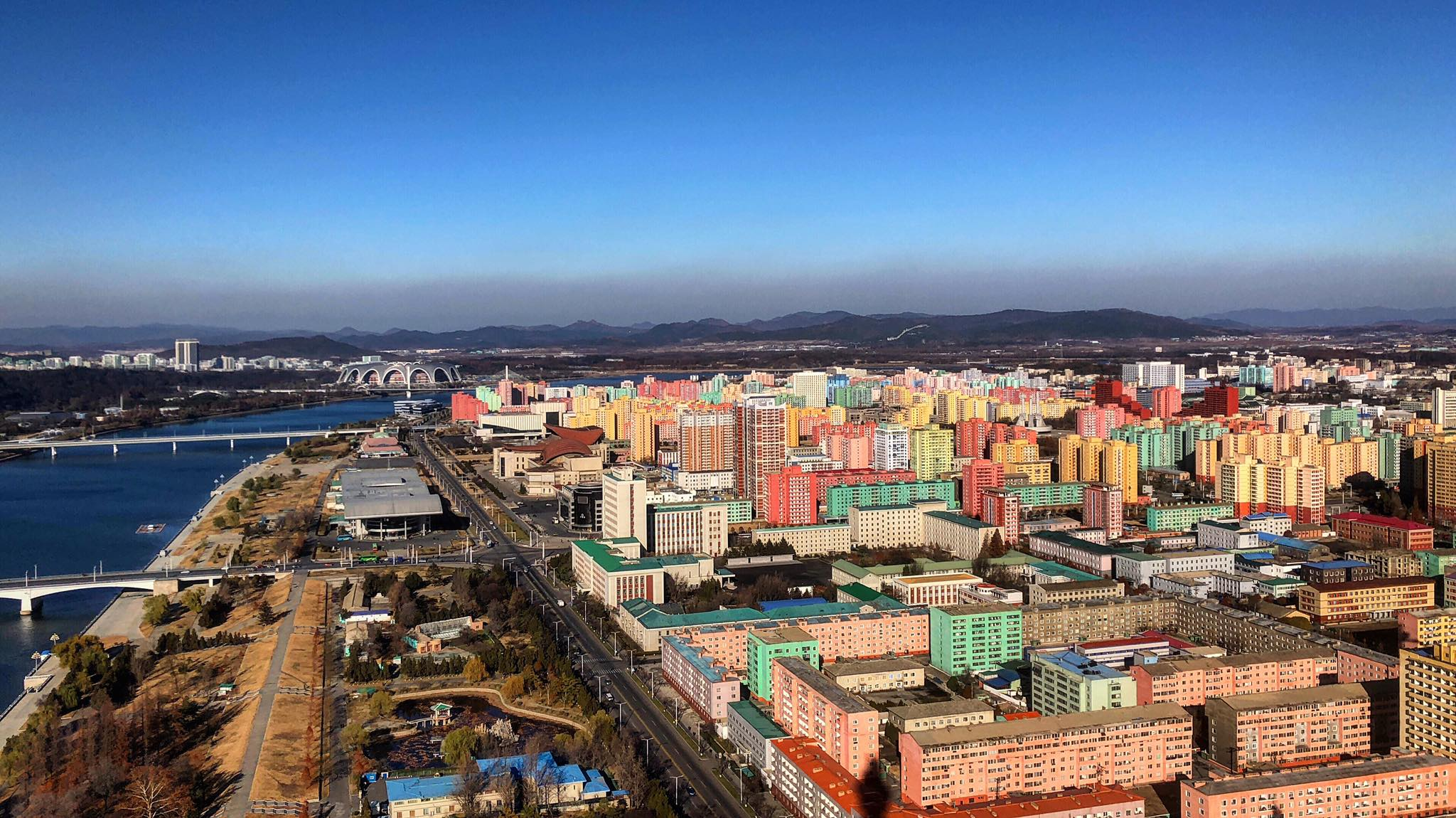 The other side of Pyongyang - Photo Credit: Crooked Compass
